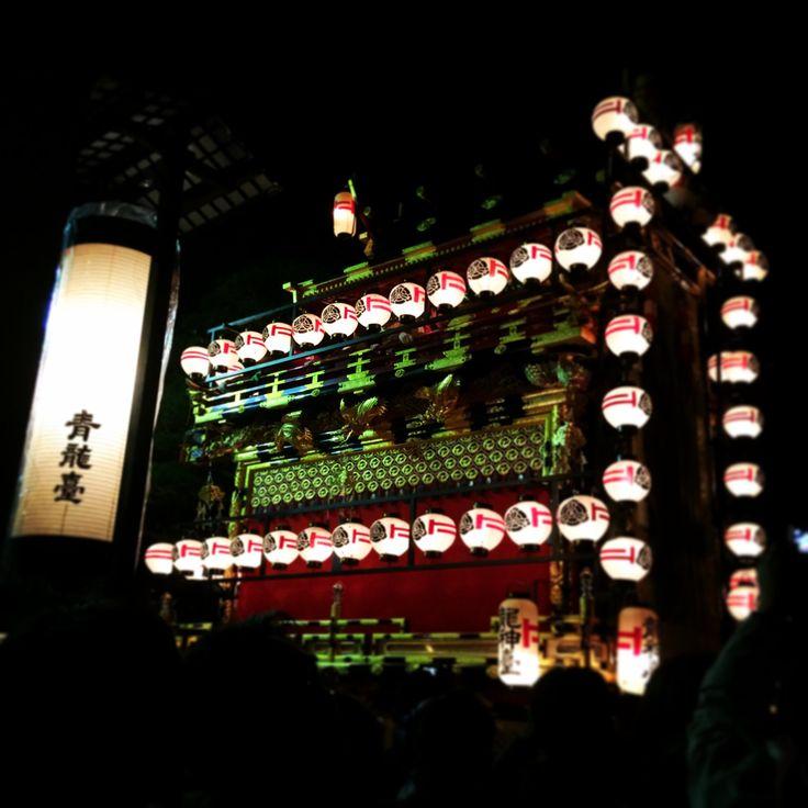 Takayama festival 夜祭り