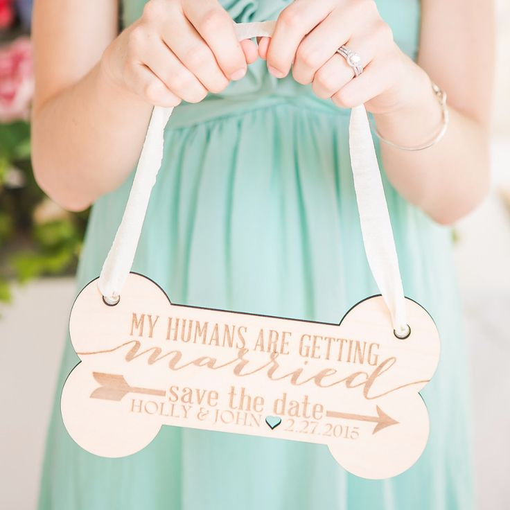 Personalized Save the Date Pet Sign