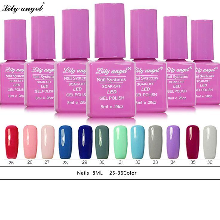 New Super Bling 8ML UV Gel Nail Polish Long Last Nail Gel Polish 36 Colors Gel Varnish Gel Lacquer Lak Vernis Semi Permanent #Affiliate