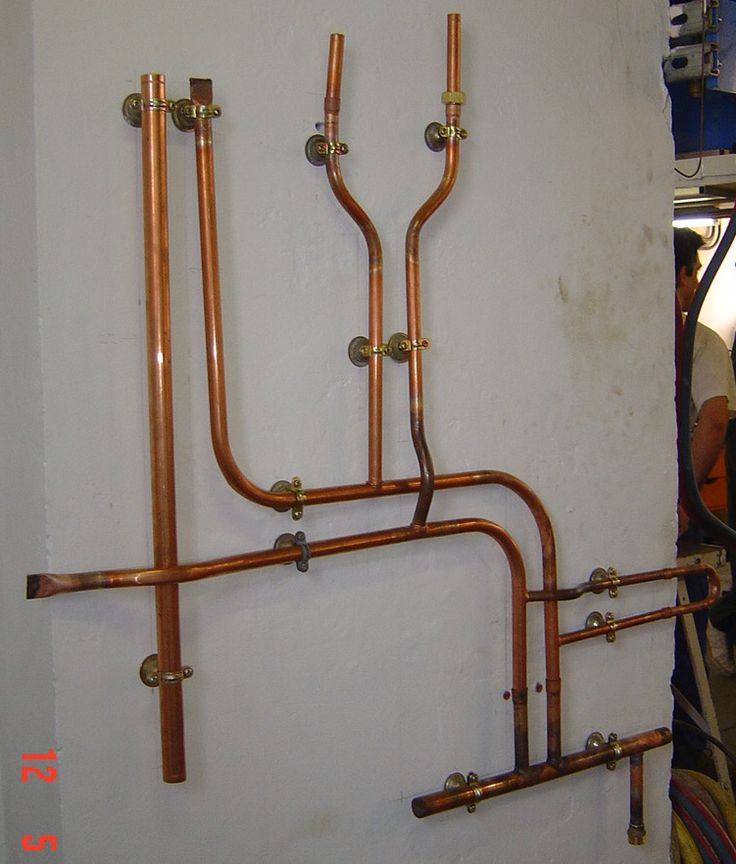 137 Best Copper Pipe Ideas Images On Pinterest Pipes