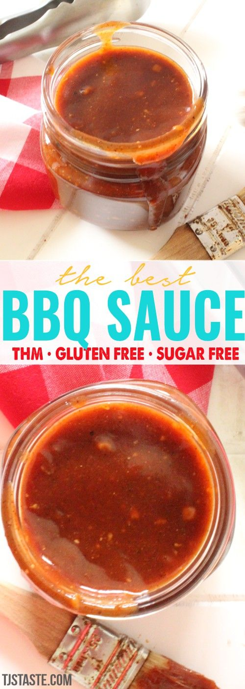 The Best Homemade Sugar Free Barbecue Sauce THM FP Trim