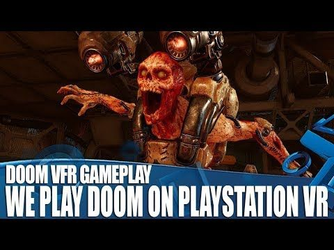 We Play Doom VFR On PlayStation VR - Actually Knee Deep In The Dead! - http://eleccafe.com/2017/11/29/we-play-doom-vfr-on-playstation-vr-actually-knee-deep-in-the-dead/