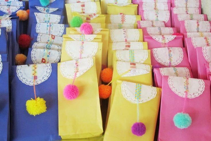 Diy goodie bag | paper bag | kitty manu