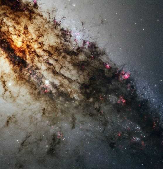 Hubble's Greatest Hits - Centaurus A which is the supermassive blackhole at the center of milkyway