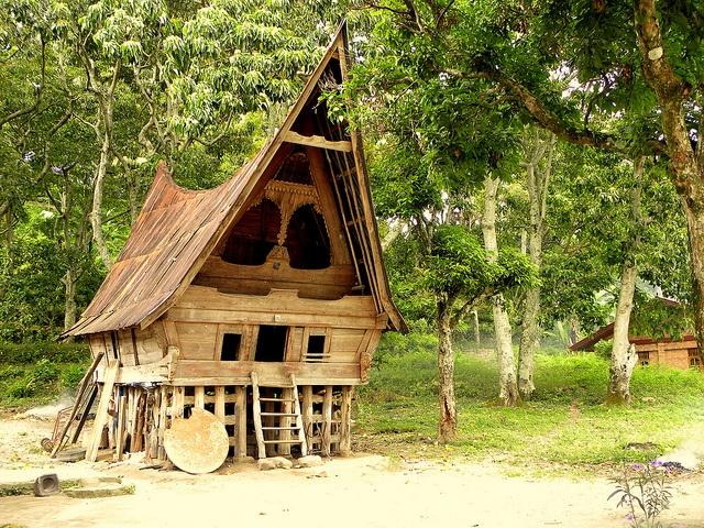 Traditional Batak House