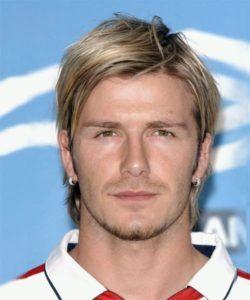 Beckham frisur lang