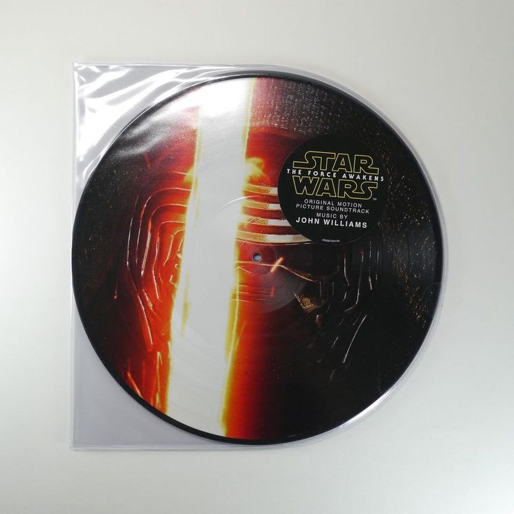 Star Wars: The Force Awakens OST Vinyl [Picture Disc, 2LP] John Williams #FilmScoreSoundtrack