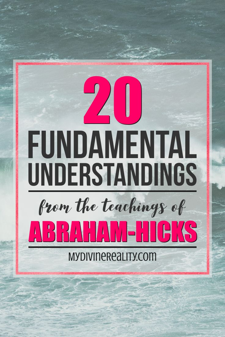 If you believe in the Law of Attraction, then you've probably heard of Abraham-Hicks! If you haven't, you need to check them out! These 20 points give you an overall understanding of their teachings. Really helpful!