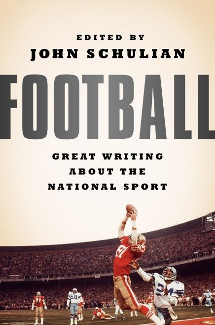 No need to follow the traditional way of reading when it comes to this  football book. '