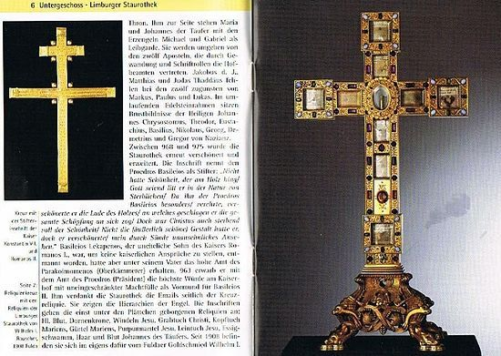 Святой Крест из ставротеки