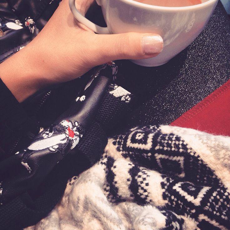 one more coffee ☺️☕️❤️