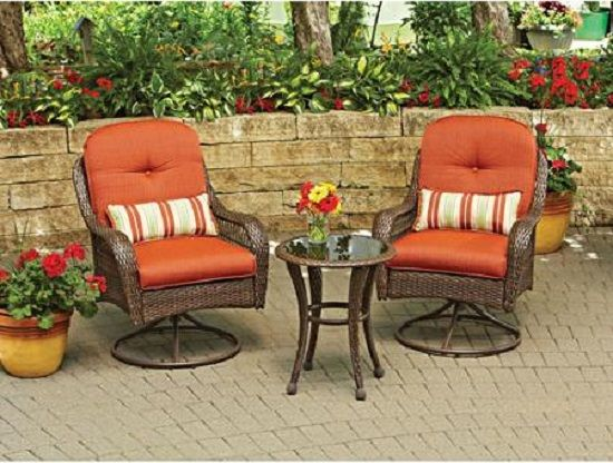 Beautiful outdoor patio garden furniture