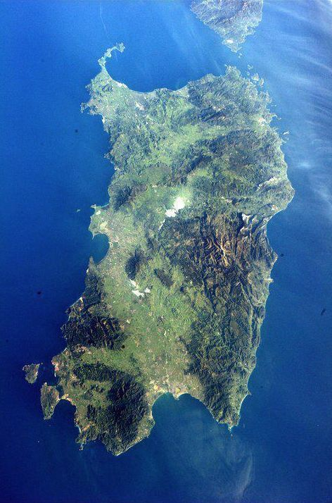 Sardinia from Above, Palau is the most beautiful European city you could ever hope to see.