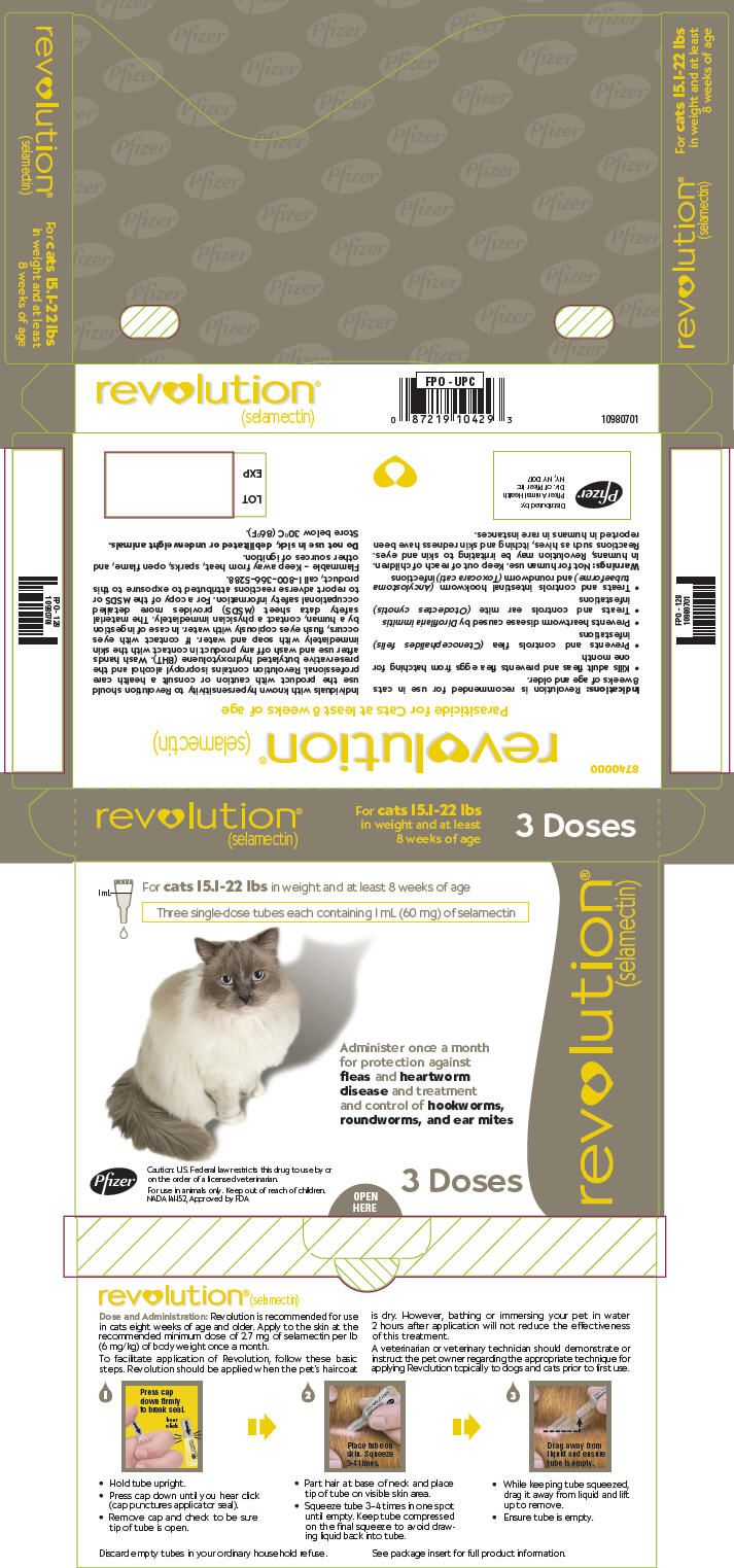 Revolution Topical Official Prescribing Information For Healthcare Professionals Includes Indications Dosage Adverse Reactions Revolution Cat Fleas Pharmacology
