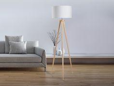 Stehlampe weiß, Beliani, 109 EUR