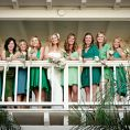 """OMG!!! I love, love, LOVE the idea of a """"Bridal Brigade"""" and have been trying to figure out how I could honor my closest friends without having them buy dresses, etc. It's on! Bridesmaid Alternatives: A Compendium"""