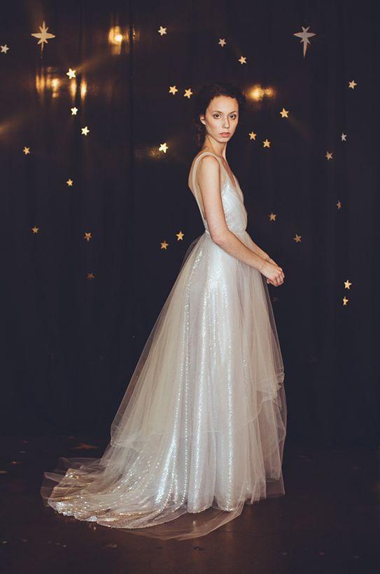 Elegant prom dress--front