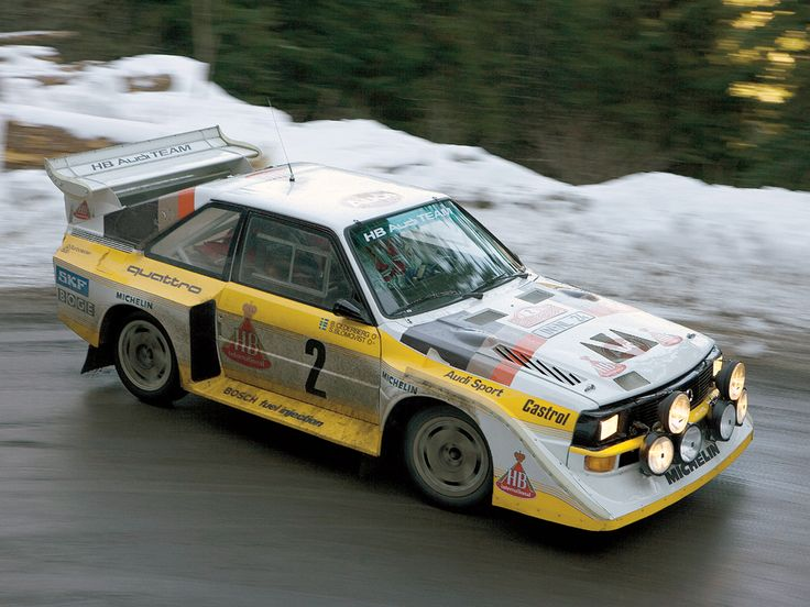 Of all the Group B rally cars, the Audi Quattro S1 is without doubt one of the most iconic. Born from the Audi Sport Quattro of the early eighties, the S1 was introduced in 1985 and is widely regarded as the most powerful rally car ever fielded. Its inline 5-cylinder, turbocharged engine unleashed around 600 horsepower to all four wheels, shattering the 0-60 mph in the low 3 second range. Though brutally powerful, the S1 actually only won once race, the 1985 San Remo rally.