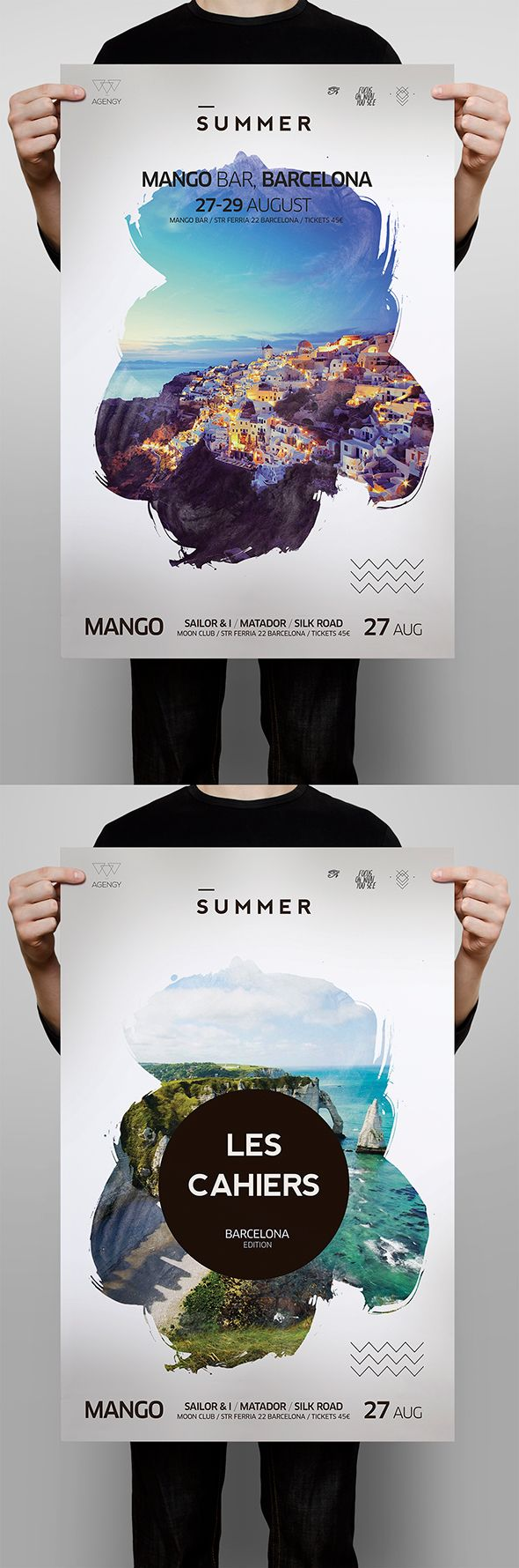 Poster design behance - Iberica Poster On Behance
