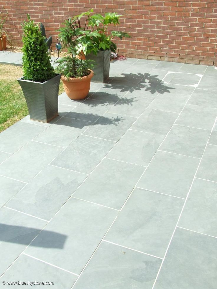Best 20 slate paving ideas on pinterest slate patio for Terrace tiles