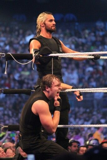Seth rollins, Dean ambrose and The shield on Pinterest