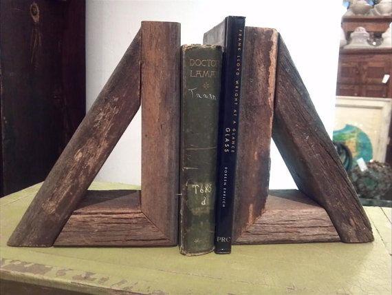 Book ends for kitchen shelves