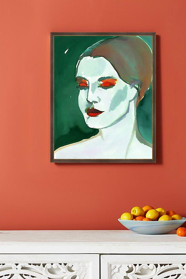 Isla Portrait Wall Art In 2021 Art Portrait Wall Anthropologie Wall Art