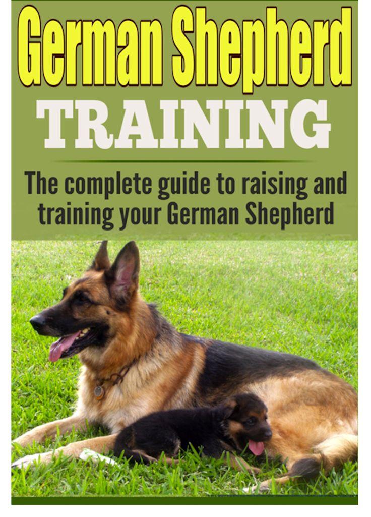 German Shepherd Take Care 2 Children In The Park German Shepherd