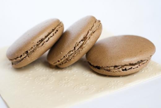 macarons cioccolato e caramello salato