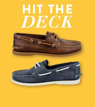 Hit the Deck with Men's Boat Shoes