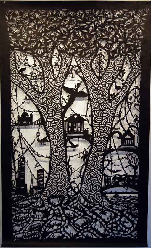 Beatrice Coron, paper cut-out artist