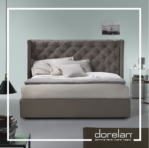 All of nature swings in unison #beautiful #Debbie #bed by #Dorelan #mocha #shades #hue #interiorstyle #quote #lifestyle #designdecor #cool #decor #ita_details #MadeinItaly #BedInItaly #italianstyle #inspiration #sleep #relax #style