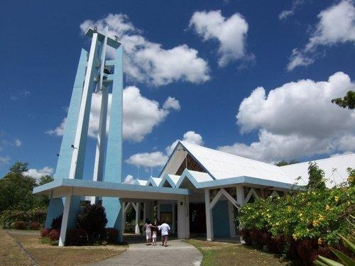 Our Lady of Lasallete Church. Located in Silang Cavite.