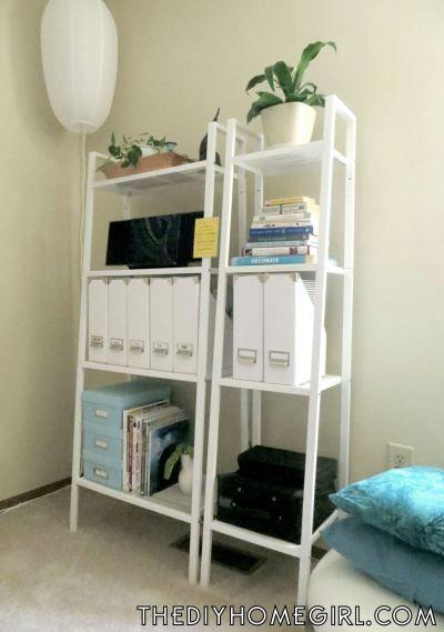 Lerberg shelves home office workspace decor