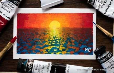45+ Ideas painting sea waves ocean
