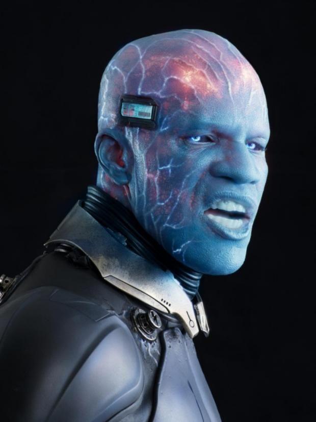 Jamie Foxx As Electro  (The Amazing Spider-Man 2)