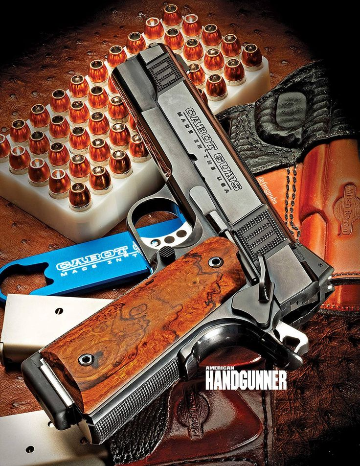 Cabot Guns - Reinventing the 1911. Click to read more about the history of the Cabot 1911 now: http://americanhandgunner.com/?p=37683