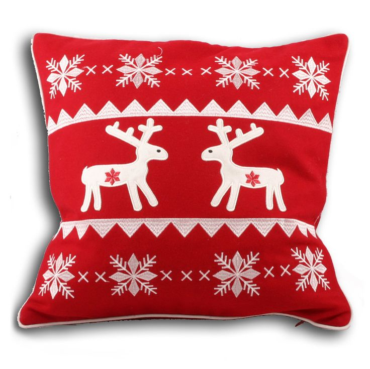 Yep - Christmas is on its way but this cushion would look good at anytime of year!