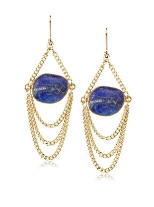62% OFF Rachel Reinhardt Blue Lapis Swag Chandelier Earring
