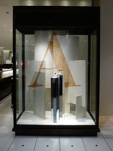 """ISETAN SHINJUKU,Tokyo, Japan,Instore Display, """"Law Comfort"""", by MADO DESIGN, pinned by Ton van der Veer"""