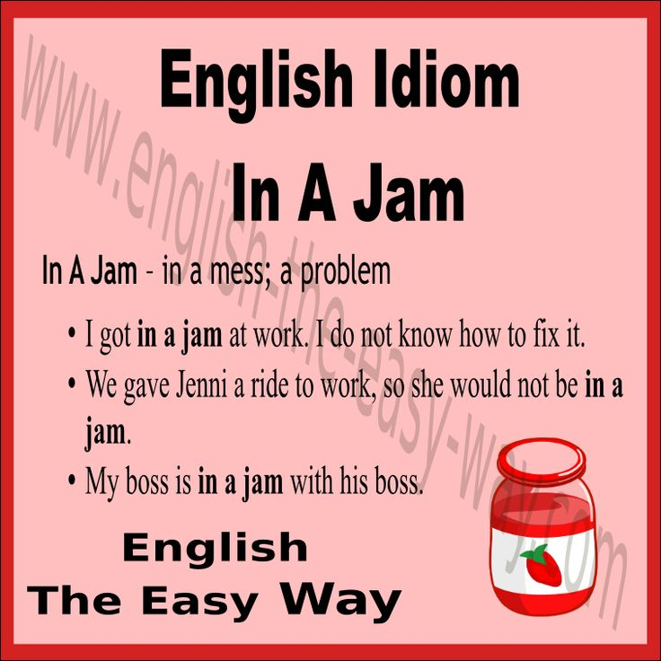 I am  ___________ with my car. 1. having a problem 2.  in a jam 3. both  http://english-the-easy-way.com/Idioms/Idioms_Page.html #EnglishIdiom