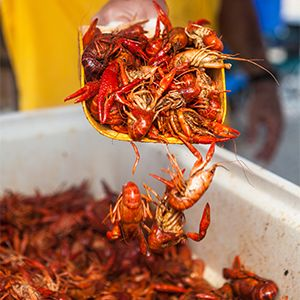 Seafood Stops in Lake Charles LA. Via T+L