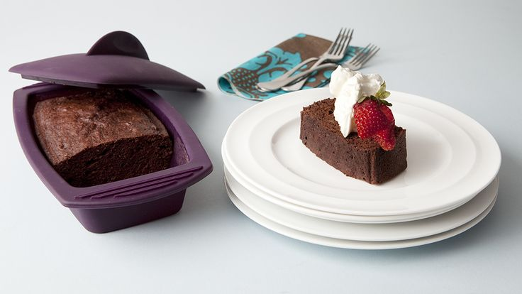 5-Minute Silicone Steamer Chocolate Snack Cake