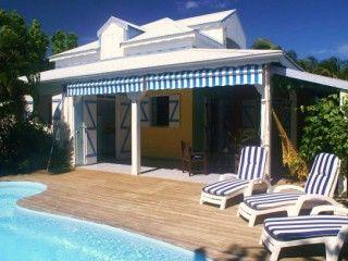 villa anse des rochers noyée dans un jardin tropical, offert une journée gratuite sur notre catamaran de 13.50m (Réf:5142 Villa de standing Guadeloupe SaintFrancois)