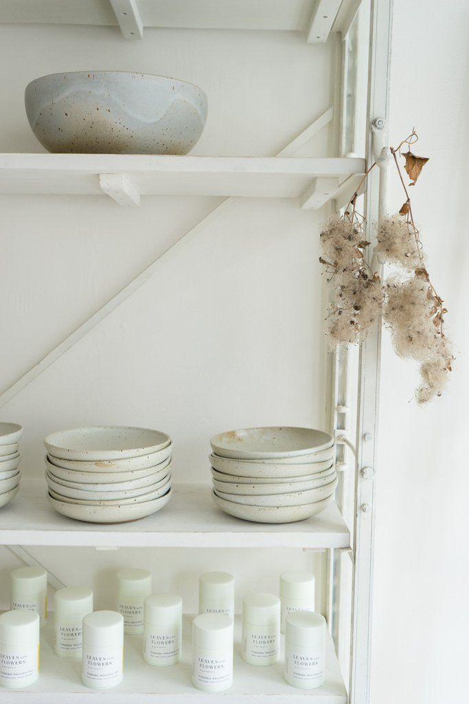 Sarah Kersten Bowls - custom glaze