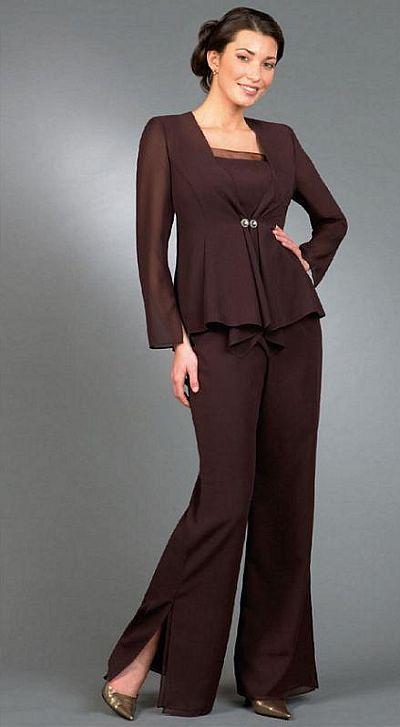 Ursula Plus Size Mother of the Bride Pant Suit 43999