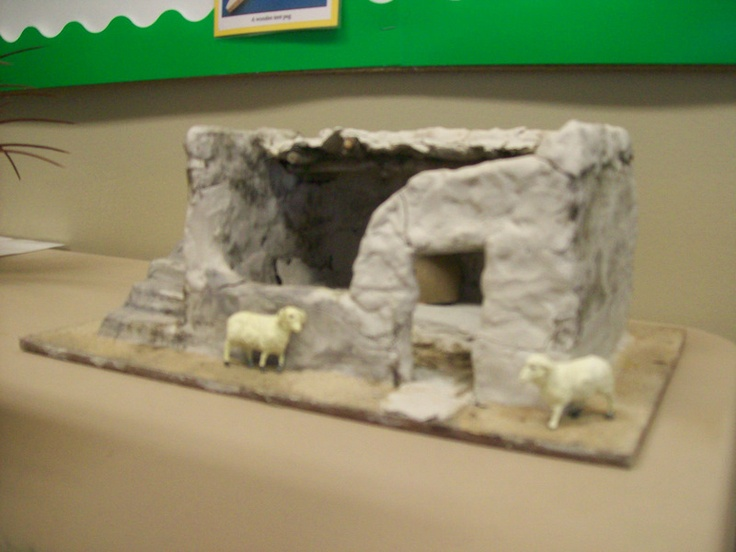 Bev's Bible Class Visual Aids: LIfe in Bible Times  Scale models of homes, bulletin board examples