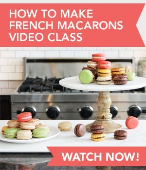 Detailed instructions that will teach you how to make French macarons at home. Recipe includes tips, tricks, a link to video lessons, and flavor variations.