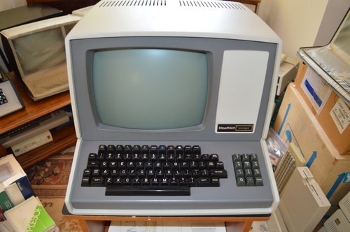 Heathkit H-19 Computer Terminal.