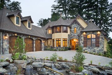 Rivendell Manor House in Portland OR, built for the NW Natural Street of Dreams